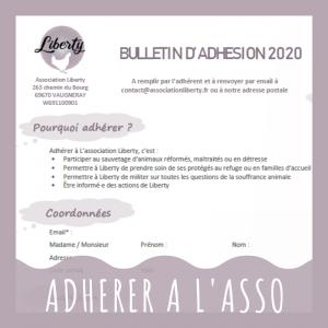 Adhesion association refuge Liberty